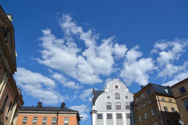 ... och över Stortorget i Gamla stan ...