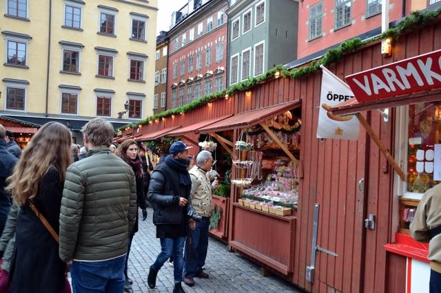 Just det, Gamla stans julmarknad, den som fått beröm även i internationell press!