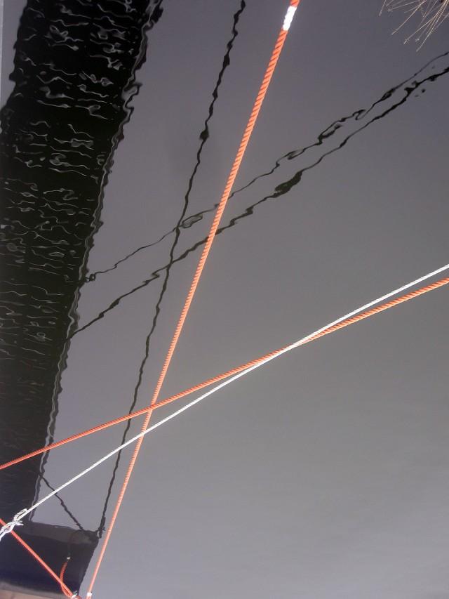 Här har vi geometri, med linjer som skär varandra och bildar diverse ytor.