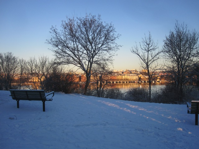 snö skinnarviksparken