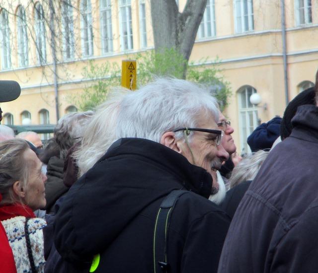 demonstration stadshuset nobel epstein
