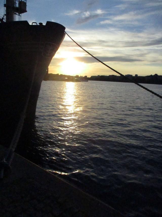 solnedgång riddarfjärden söder mälarstrand